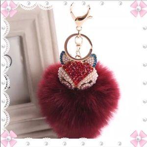 Other - Fox Purse Charm or Diaper Bag Charm
